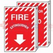 Fire Extinguisher Sign 2 Sided