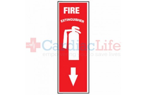 Fire Extinguisher Location Sign (4 x 12)