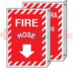 Fire Hose Sign 2 Sided