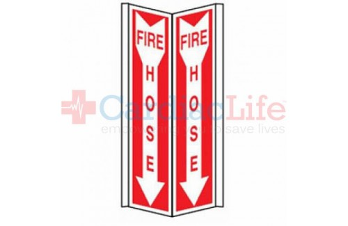 Fire Hose Tent Sign