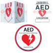 Sign and AED Decal Package