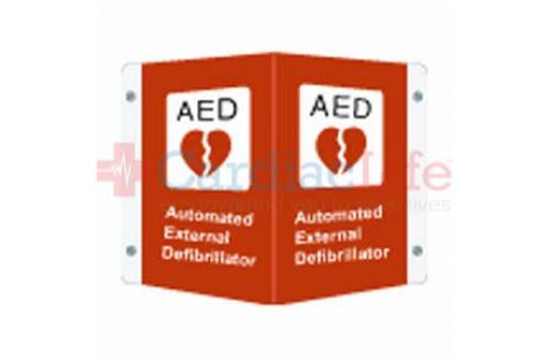 AED Aluminum 3D Sign