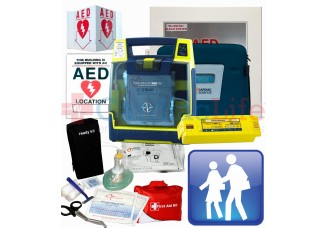 Cardiac Science Powerheart AED G3 Plus School and Community Value Package