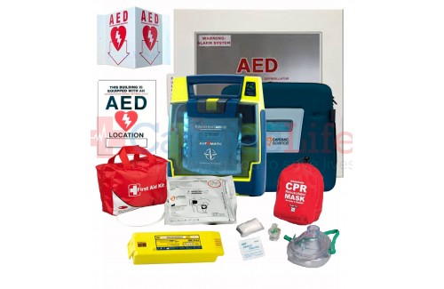 Cardiac Science Powerheart AED G3 Plus Athletic Sports Value Package