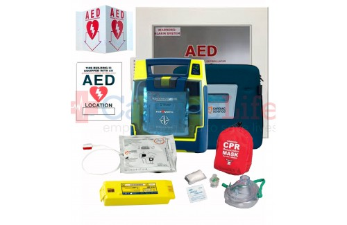 Cardiac Science Powerheart AED G3 Plus Hotel Resort Value Package