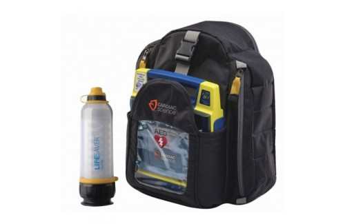 Cardiac Science Powerheart AED G3 Plus and LIFESAVER Water Bottle Hiking Package