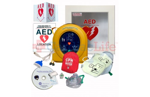 HeartSine samaritan PAD 350P AED Dental Office Value Package