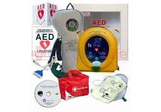 HeartSine samaritan PAD 350P AED Life Corporation Emergency Oxygen Value Package