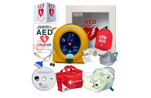 HeartSine samaritan PAD 350P AED School and Community Value Package