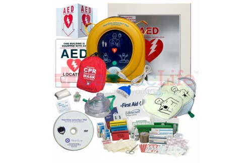 HeartSine samaritan PAD 350P AED Stadium and Arena Value Package