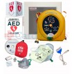 HeartSine samaritan PAD 450P AED Athletic Sports Value Package
