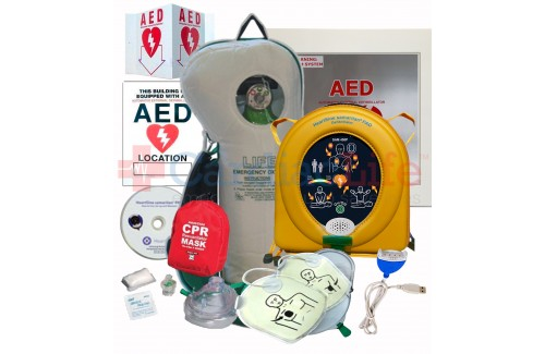 HeartSine samaritan PAD 450P AED Life Corporation Emergency Oxygen Value Package