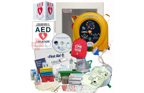 HeartSine samaritan PAD 450P AED Stadium and Arena Value Package