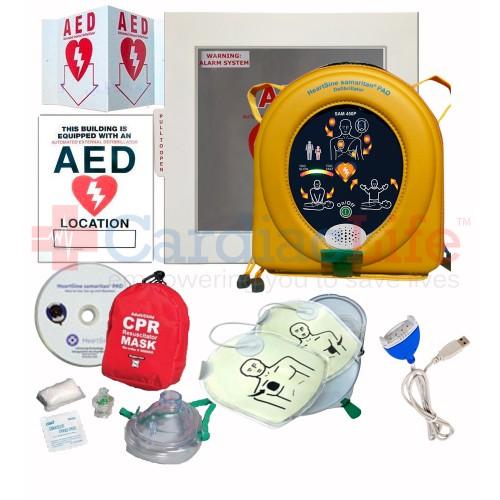 HeartSine samaritan PAD 450P AED Value Package   Cardiac Life