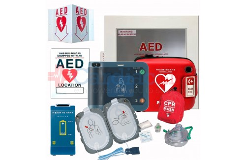 AED Athletic Sports Value Package with Philips Heartstart FRx AED