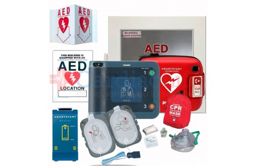AED Package and CPR Training with Philips Heartstart FRx AED
