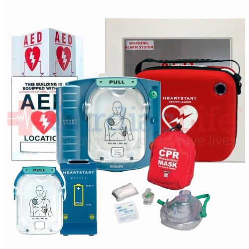 Philips HeartStart OnSite Auto Dealership AED Value Package
