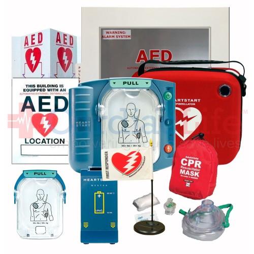 Philips HeartStart OnSite AED Office Value Package | Cardiac