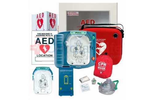 AED and CPR Training Package with Philips Heartstart Onsite