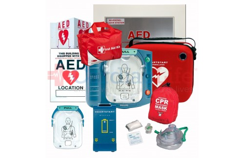 Philips HeartStart OnSite AED School and Community Value Package