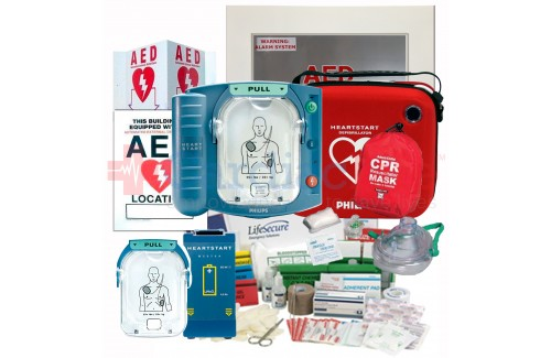 Stadium and Arena Value Package with Philips HeartStart OnSite AED