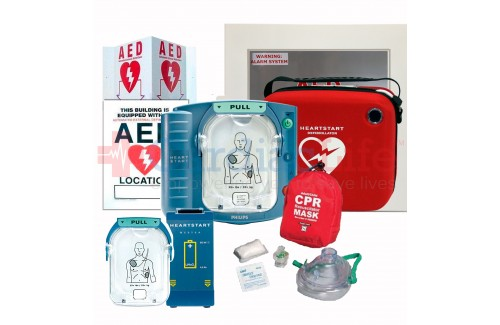 AED Value Package with Philips Heartstart Onsite AED