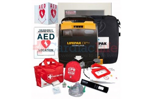 Physio-Control LIFEPAK CR Plus AED School and Community Value Package
