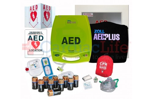 ZOLL AED Plus Auto Dealership AED Value Package