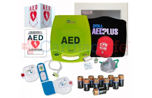 ZOLL AED Plus Package with CPR Training