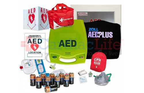 ZOLL AED Plus School and Community AED Value Package