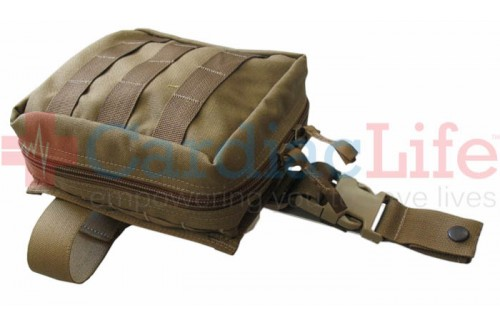 Tactical Medical Solutions TACMED Drop Leg Pouch Advanced Kit