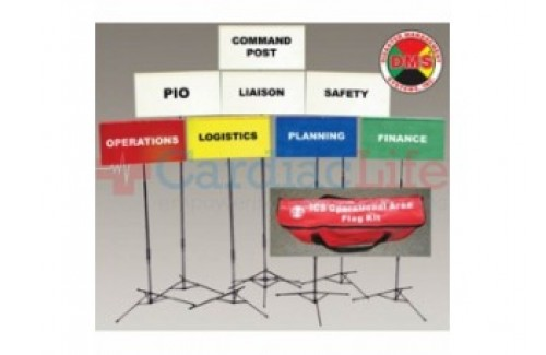 DMS-05302 Field Incident Command Flag Kit