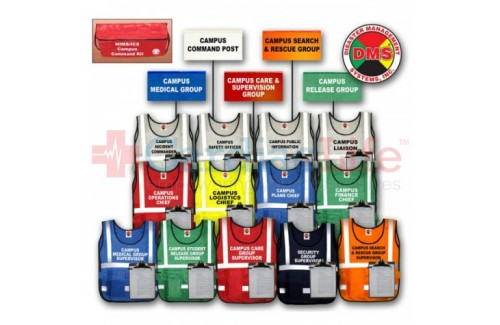DMS-05304 Campus Command Vest & Flag Kit