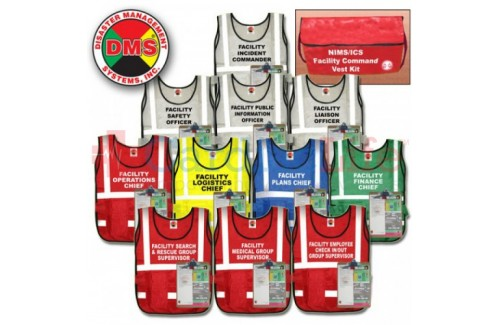 DMS-05036 Facility Command Vest Kit