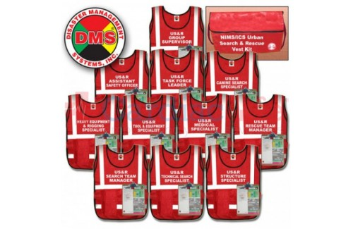 DMS-05308 Urban Search & Rescue Vest Kit