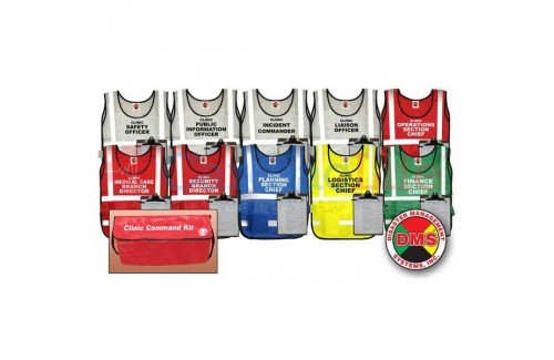 DMS-05466 Clinic Command Vest Kit for Small Facility