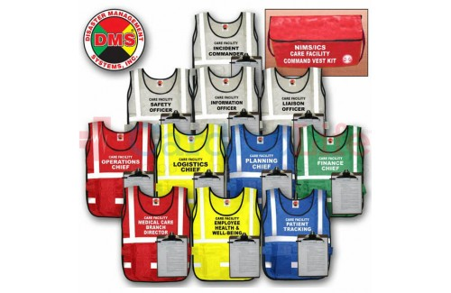 DMS-05526 Long Term Care Facility Command Vest Kit - 11 Position