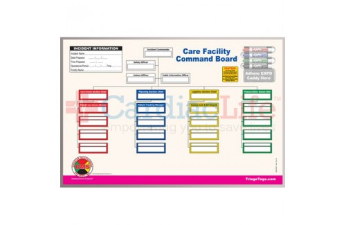 DMS-05527 Care Facility Dry Erase Command Board