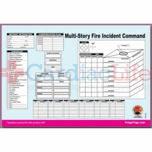 Cool Shirt Systems >> DMS-05563 Multi-Story Structure Incident Worksheet | Cardiac Life