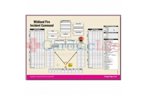 DMS-05565 Wildland Fire Incident Command Worksheet Pad
