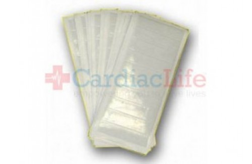 DMS-05712 50 Pack - 4x10 Adhesive Backed Evacuated Pouch