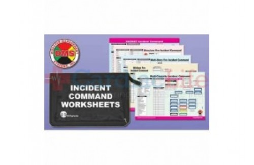 DMS-05736 Multi-Hazard Incident Command Worksheet Kit