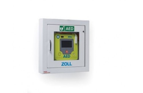 Zoll AED 3 Semi-recessed Wall Cabinet
