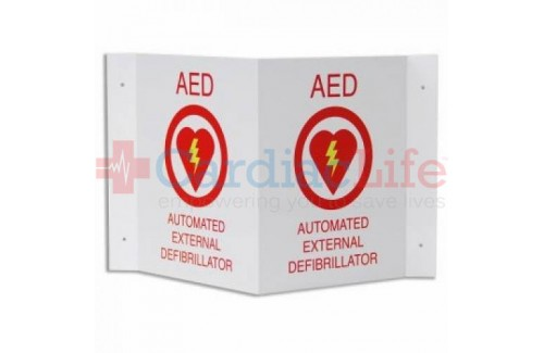 ZOLL AED Plus 3D Wall Sign