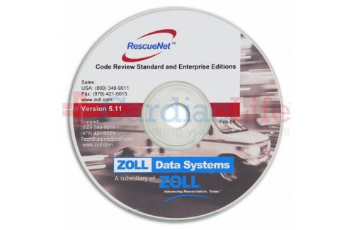 ZOLL RescueNet Code Review Software CD