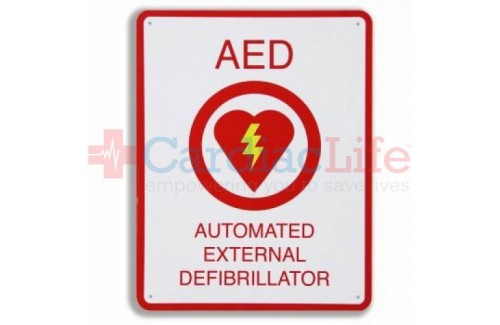 ZOLL AED Plus Flat AED Wall Sign