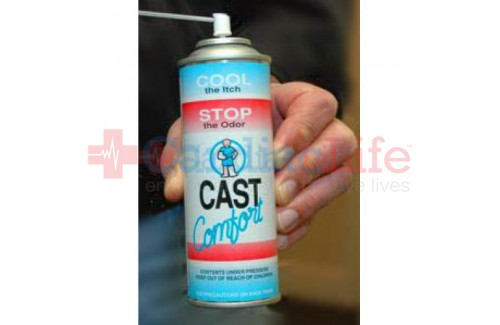 Cast Comfort Spray: Alleviate Cast Itch & Odor 6 oz. Can