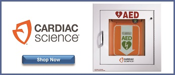 cardiac science aed cabinet