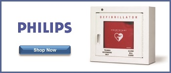 philips aed cabinet
